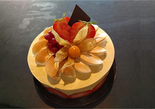 Gâteau Le Fraisier